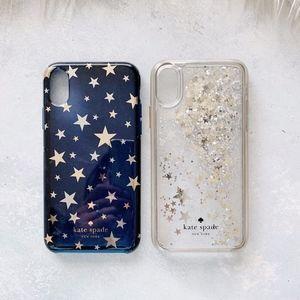 Kate Spade iPhone X Star Case Bundle